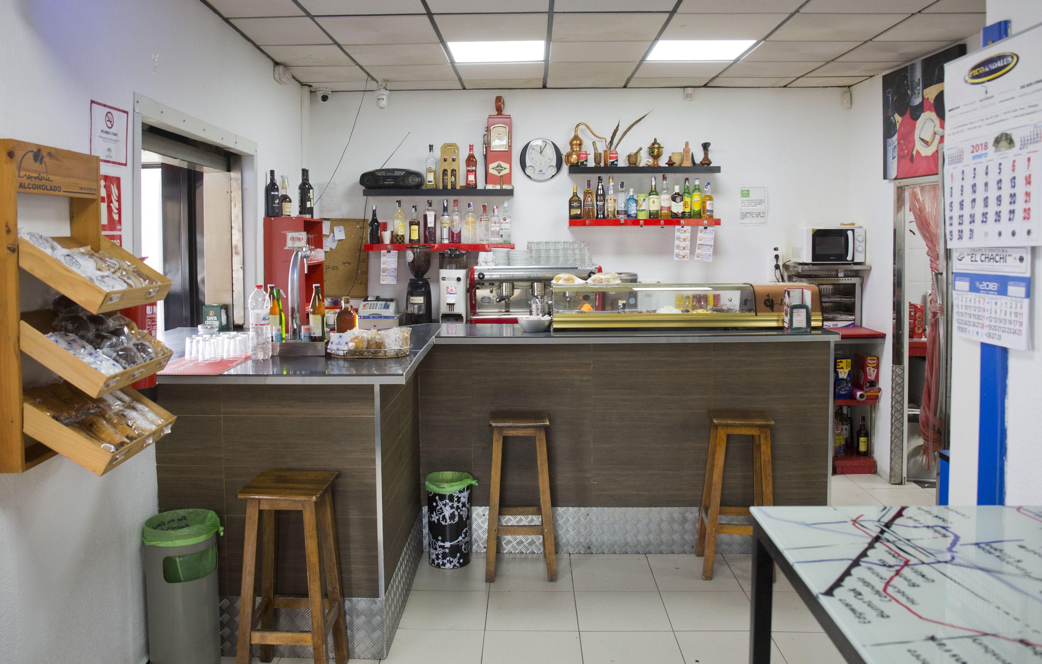 Interior de nuestra cafetería