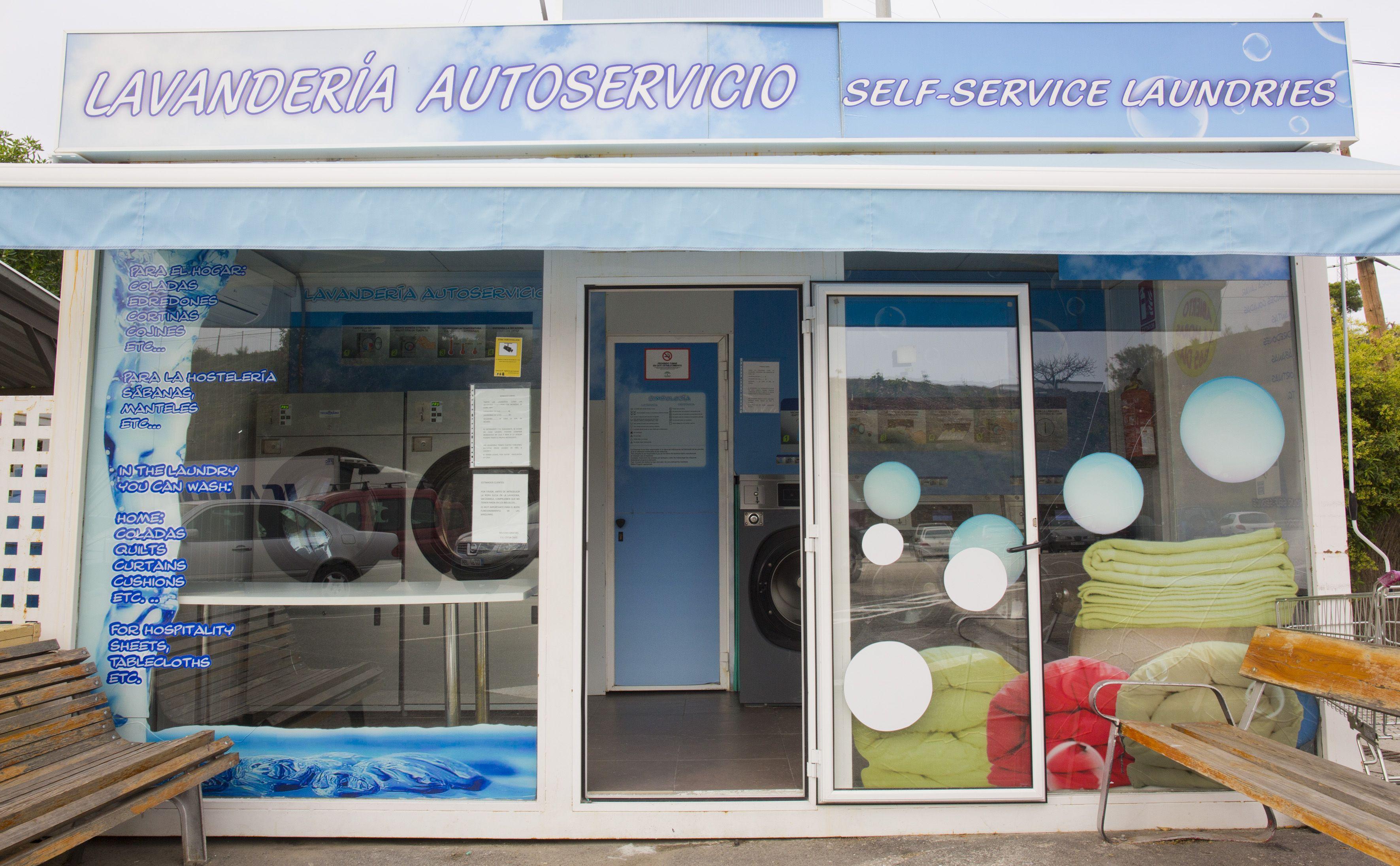 En Cepsa Cajiz también encontrarás autoservicio de lavandería