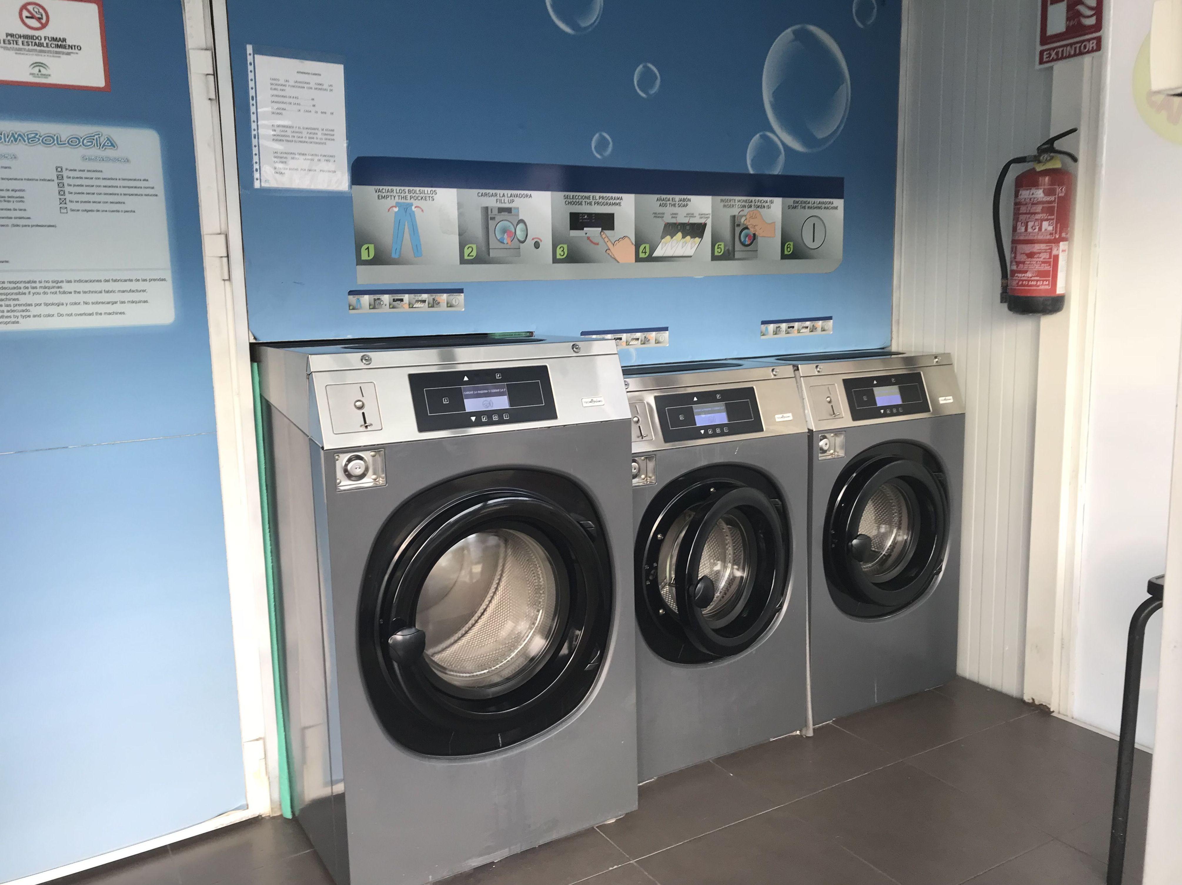 En Cepsa Cajiz encontrarás máquinas de autolavado de ropa