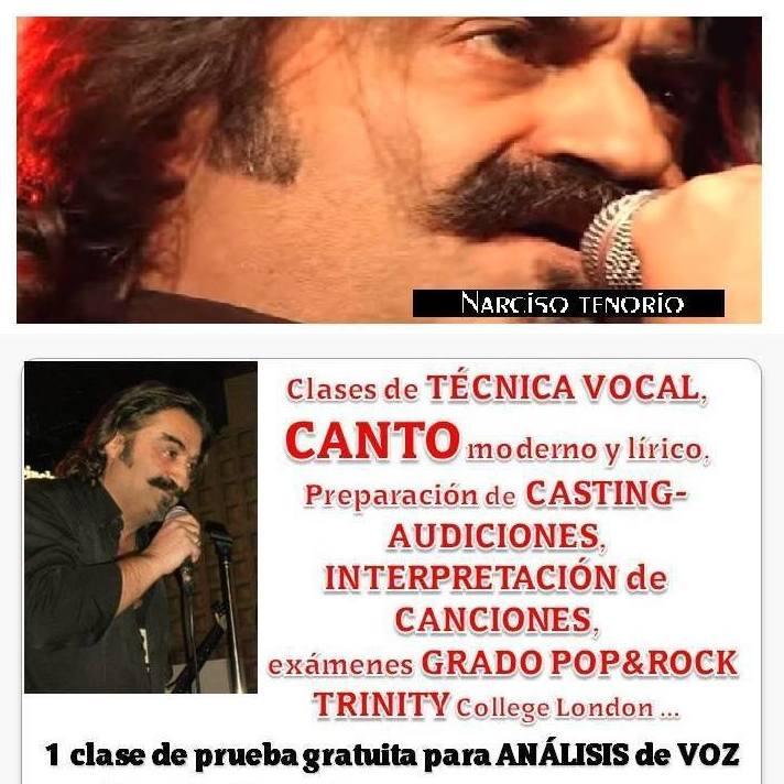 Clases de CANTO con Narciso Tenorio