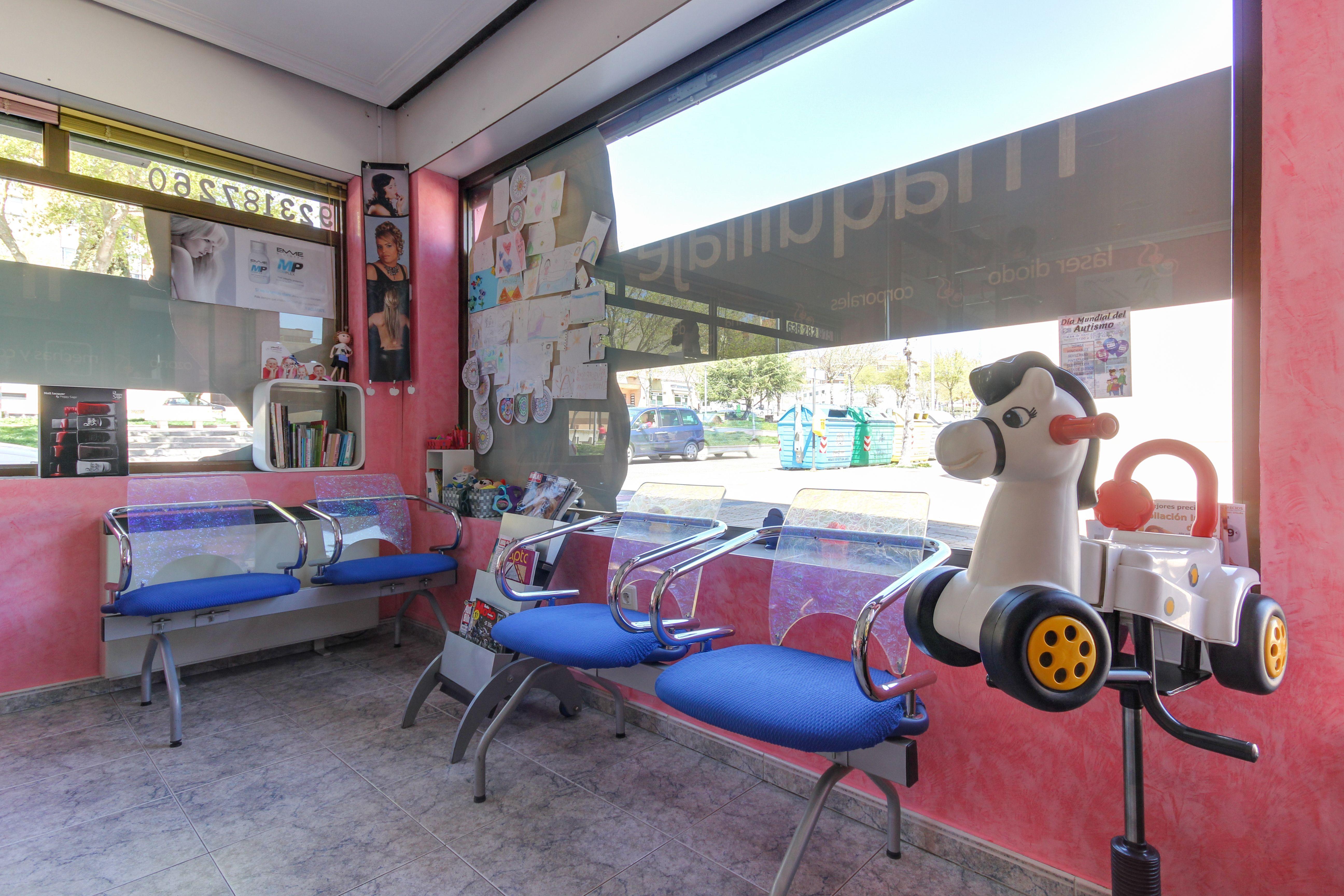 Peluquería para niños en Salamanca
