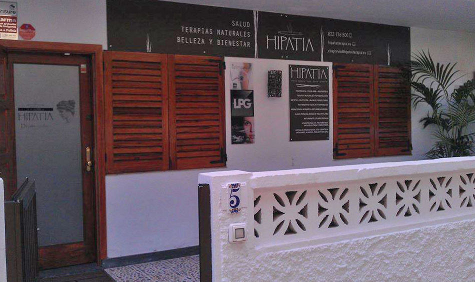 Fachada del centro de estética en San Cristóbal de La Laguna