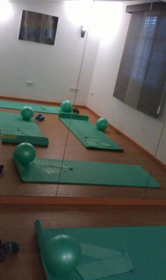 Sala de pilates, yoga, talleres y terapias grupales