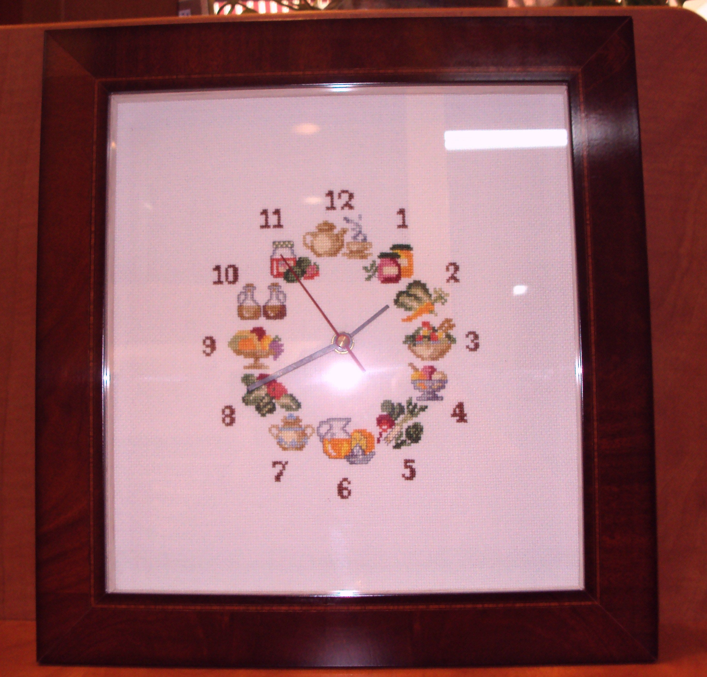 Especialistas en enmarcado de relojes en punto de cruz y ganchillo ...