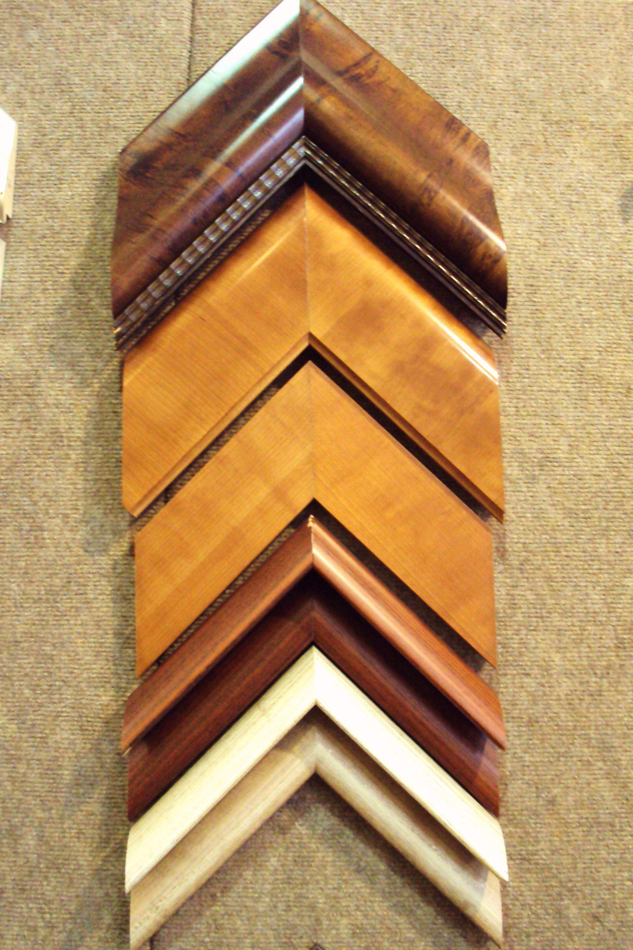 Chapadas en madera anchas