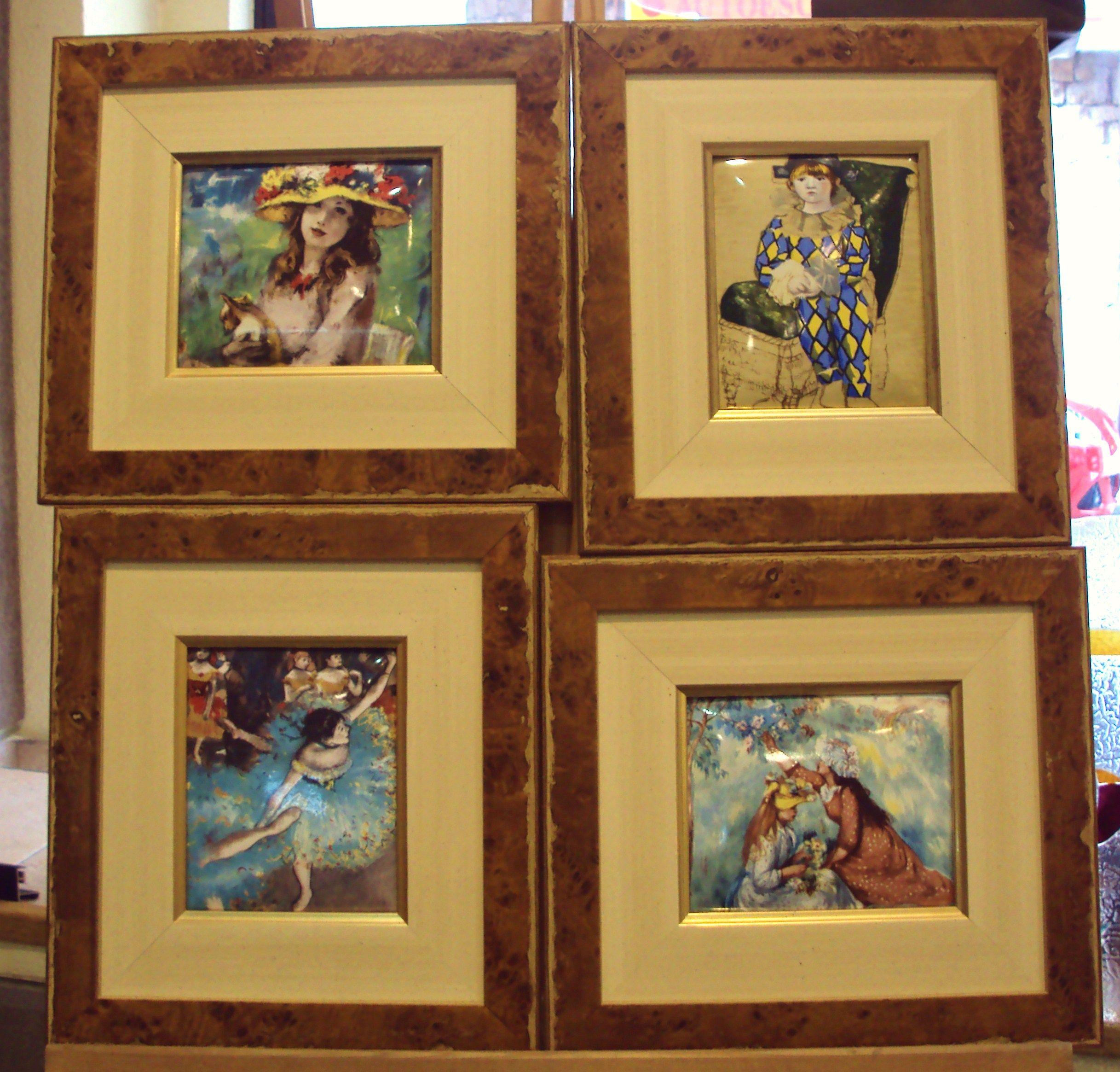 Esmaltes: Catálogo de Cristalería y taller de enmarcación Urgel