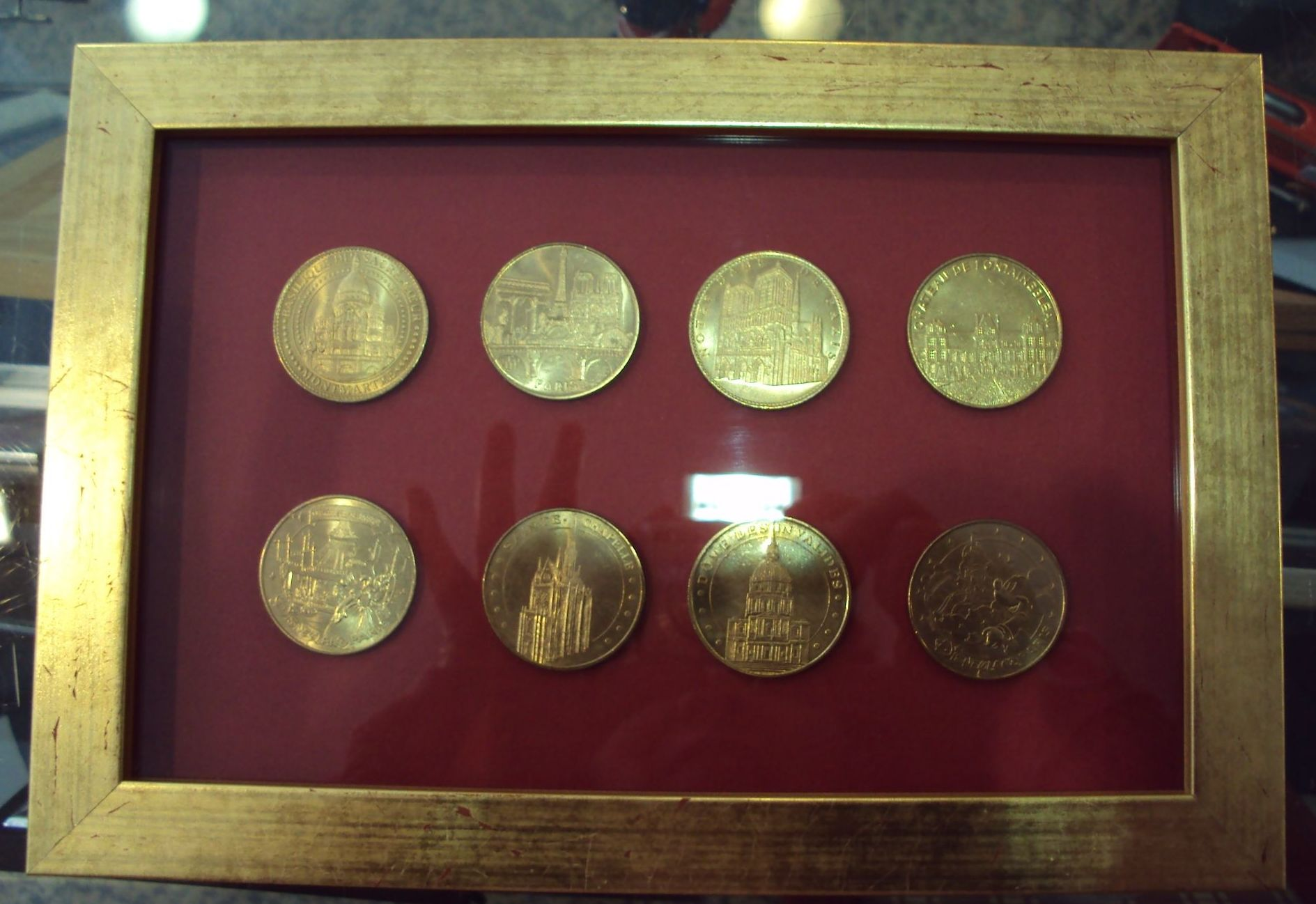 Enmarcado monedas