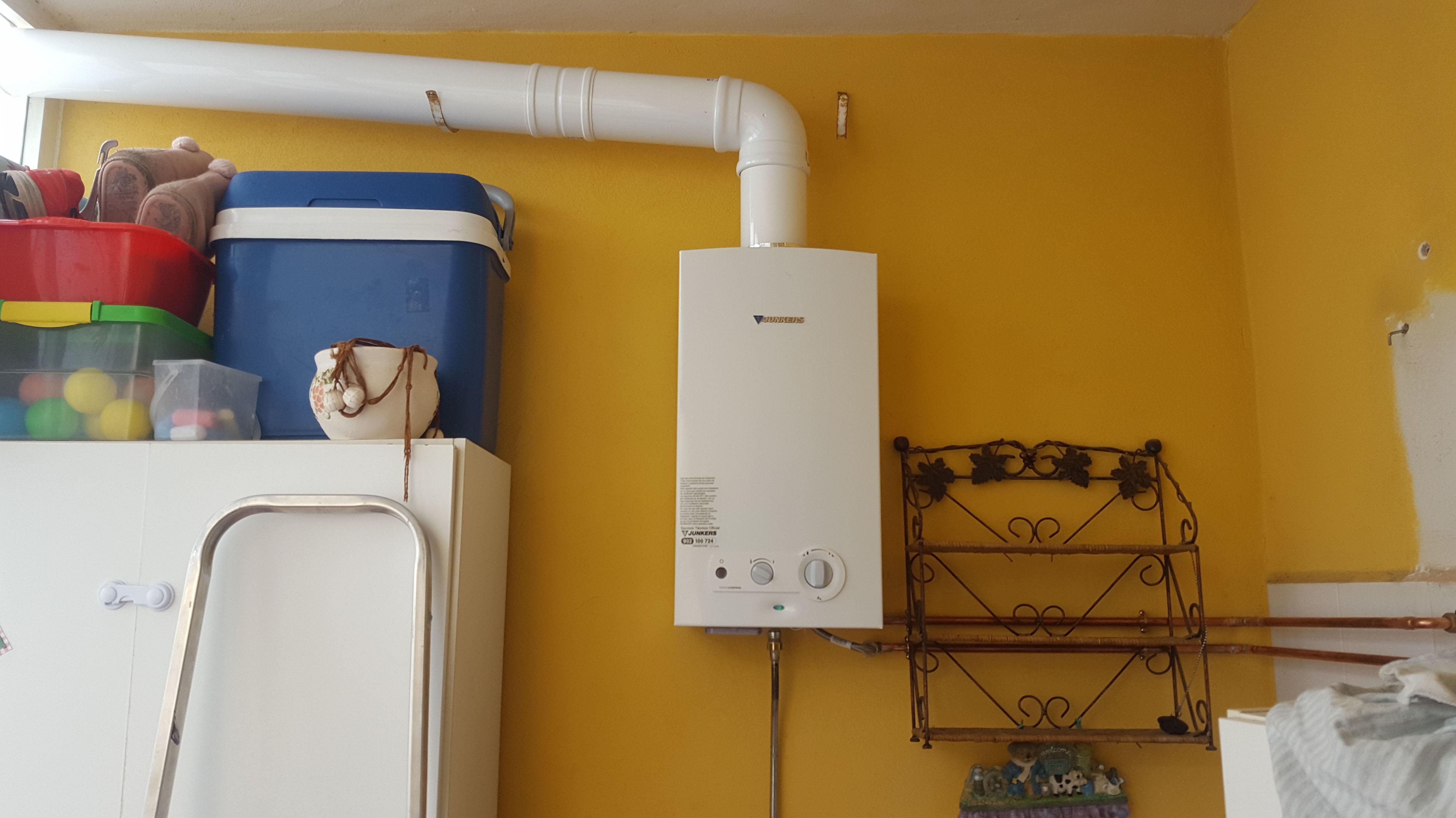 Instalacion de calentador a gas en Aguadulce