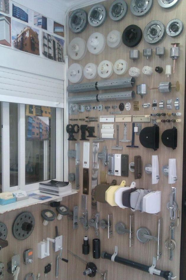 Venta e instalación de accesorios para persianas