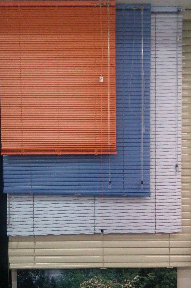 Venecianas de aluminio en gran variedad de colores