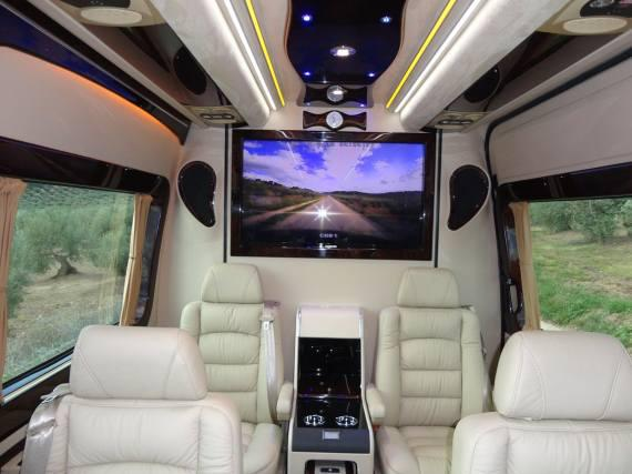Interior Mercedes Sprinter Exclusive
