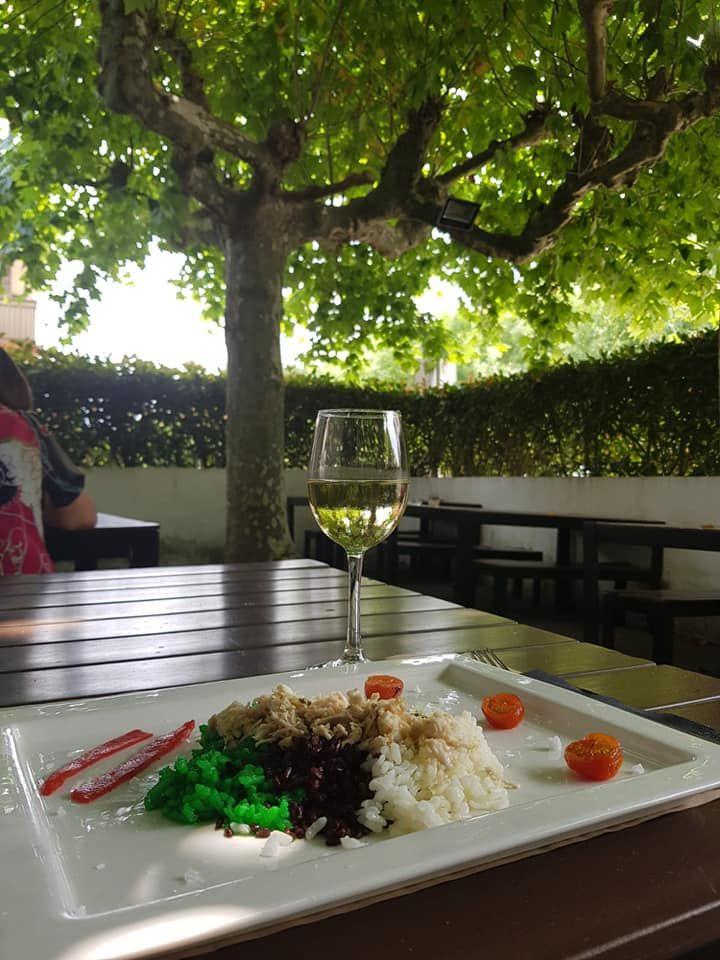 Deliciosos entrantes en Donosti