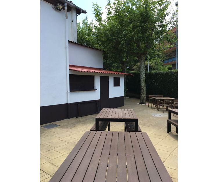 Restaurante con terraza en Donosti