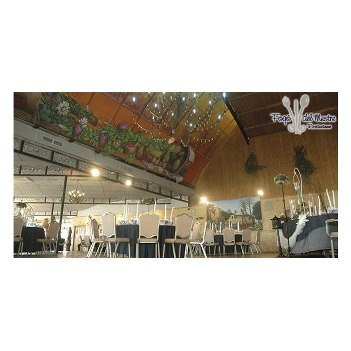 Nuestras instalaciones: Salón de banquetes de Salones Fogó del Mestre