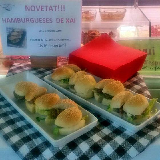 Hamburguesas: Nuestros productos de Can Burguet