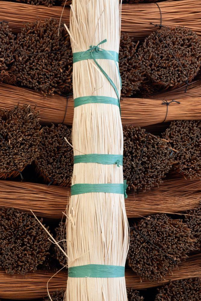 Tireta de rattan pelada y natural