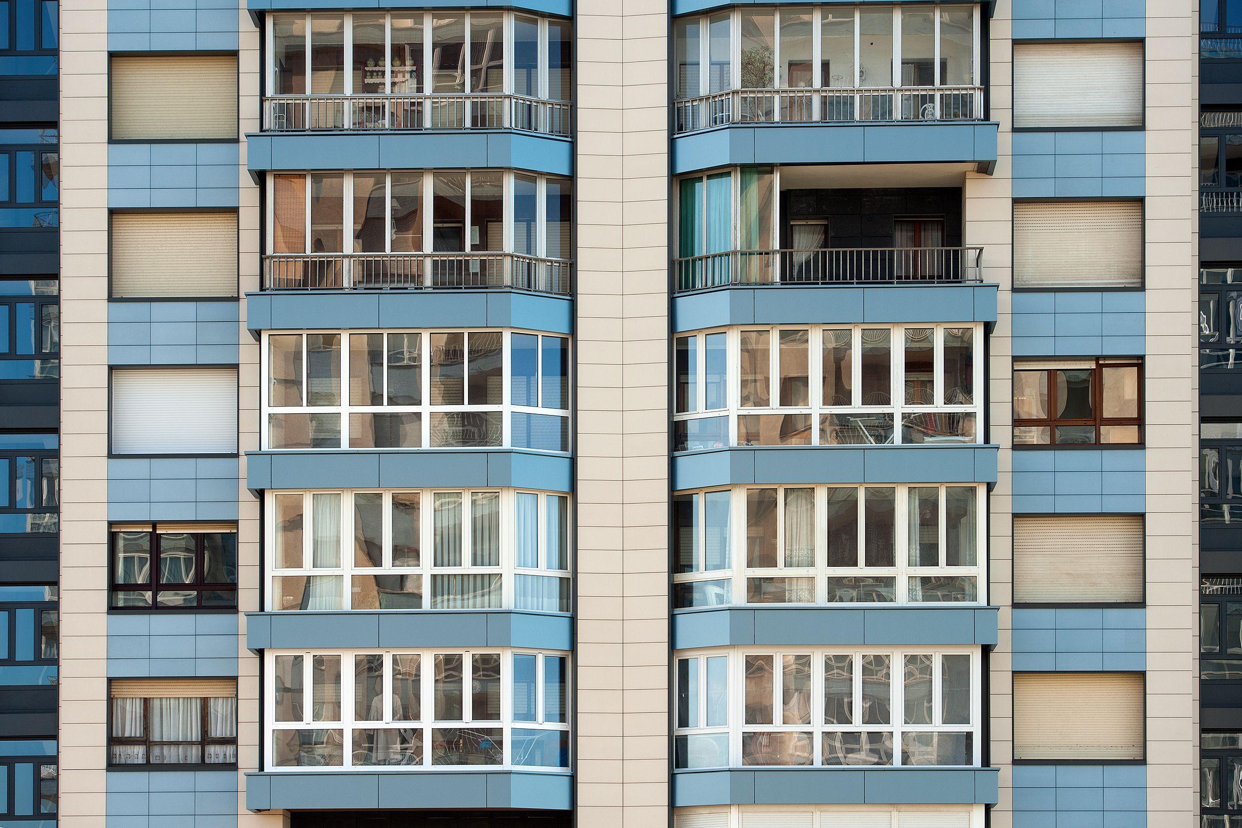 Rehabilitación de fachadas en Mieres, Asturias