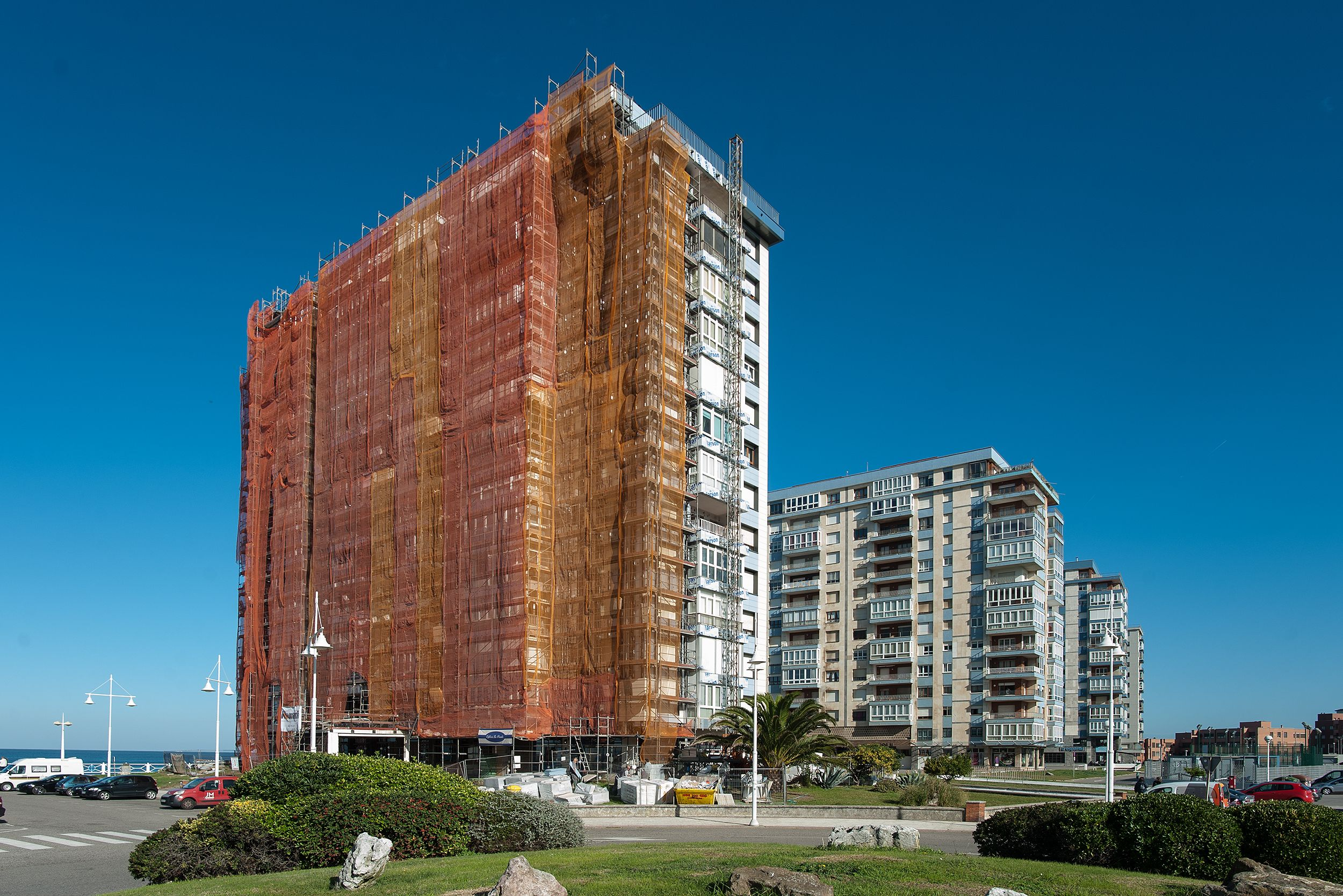 Reparación de fachadas en Mieres, Asturias