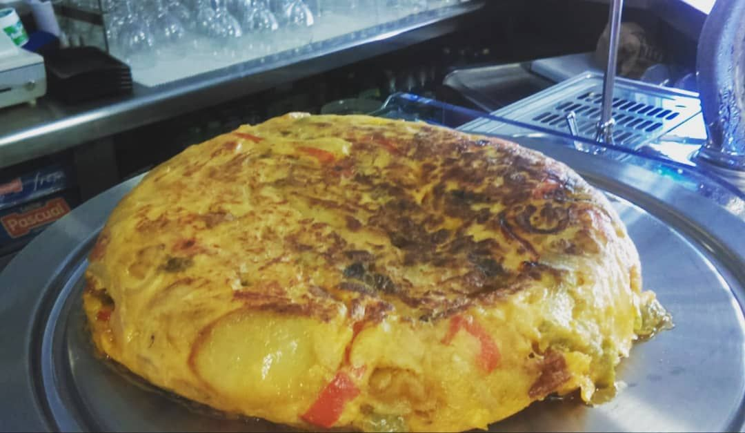 Tortilla de patata en Mijas Costa