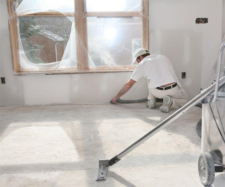 Limpieza por fin de obra en El Bierzo