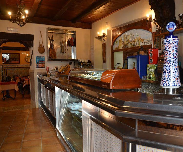 Interior de nuestra taberna en Córdoba