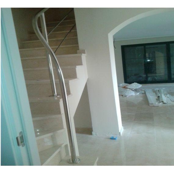 Barandillas de escaleras en acero inoxidable