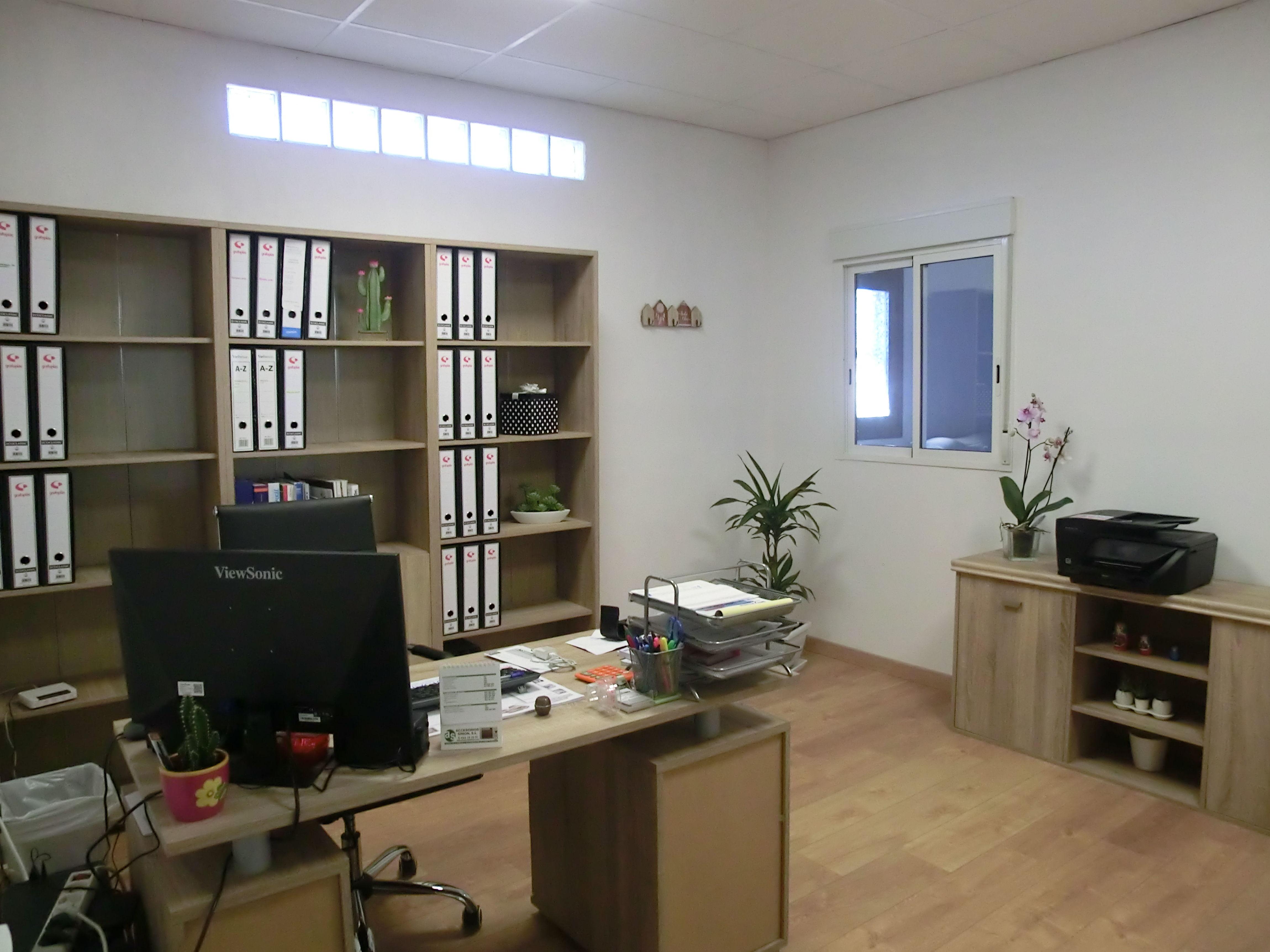 Nuestras instalaciónes, oficina.