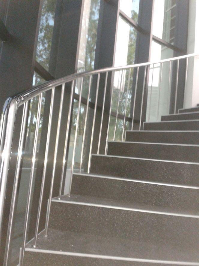 Barandillas de escaleras acero inoxidable
