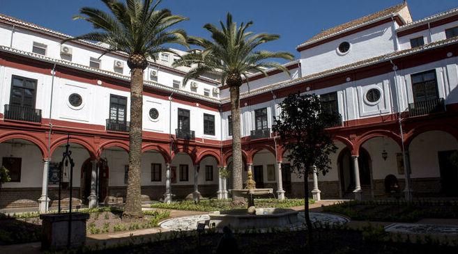 Reforma del Jardín del claustro de Capitanía General de Granada