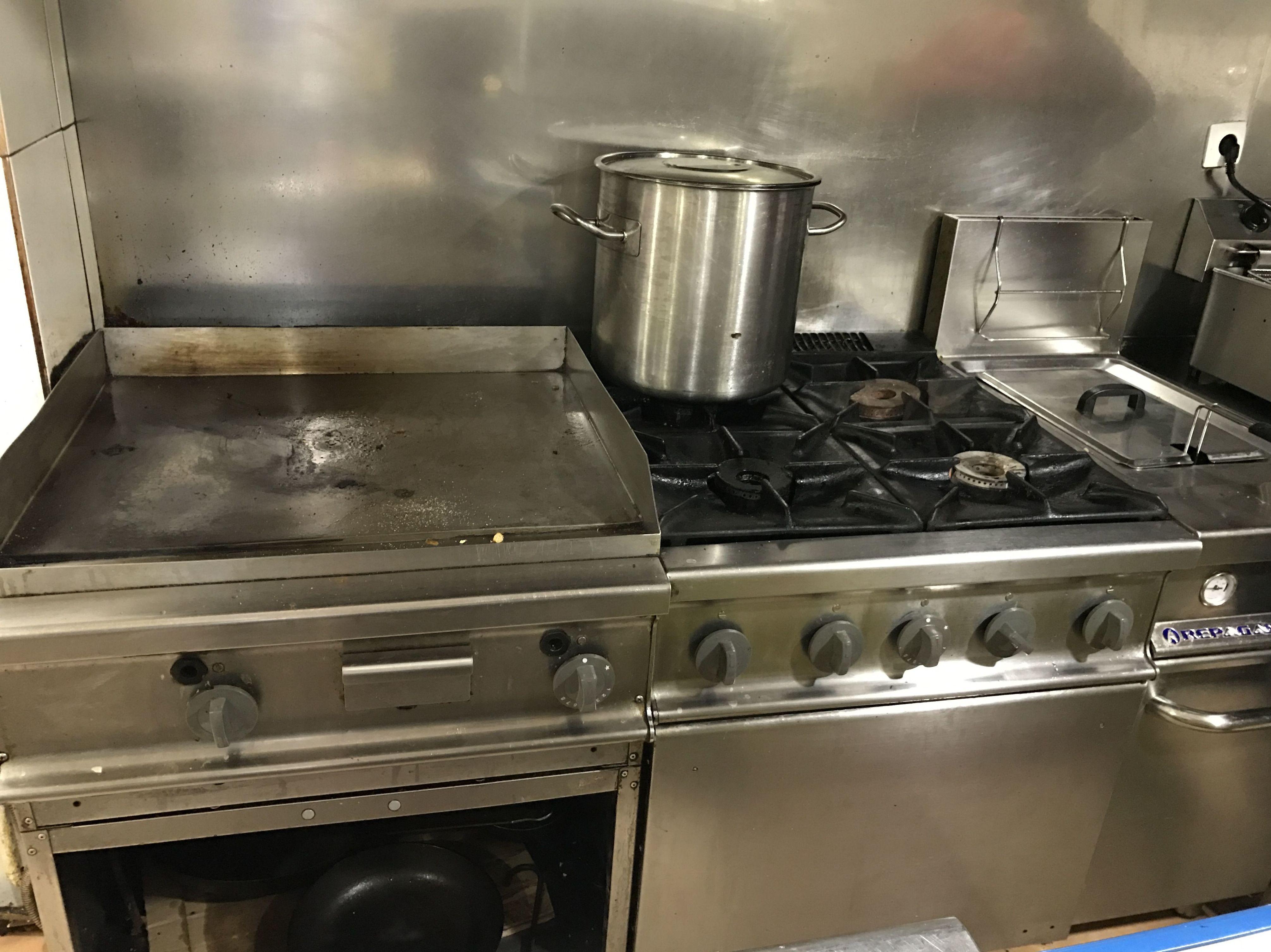Muebles de cocina para restaurante