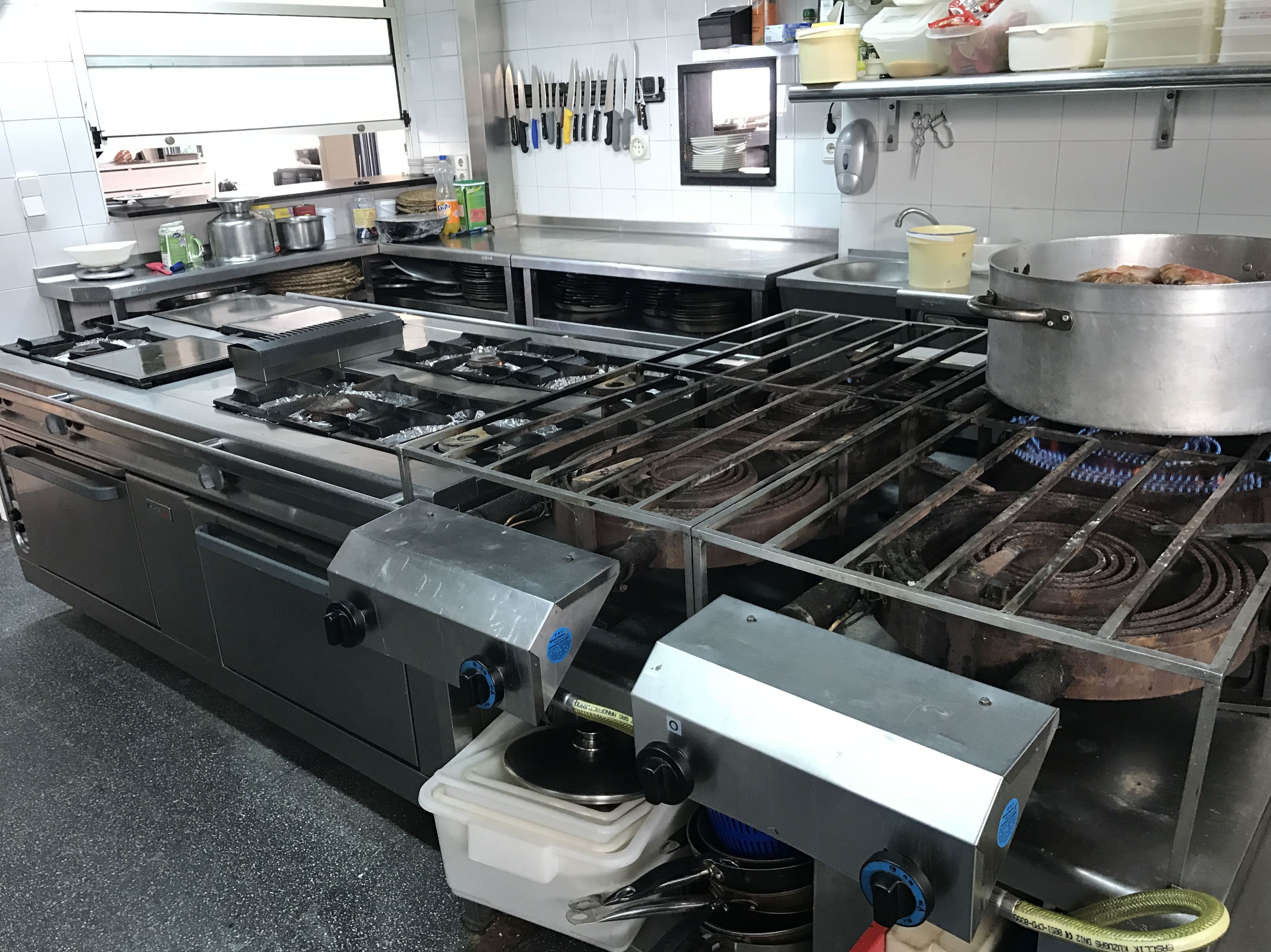 Mantenimiento de maquinaria para hostelería en Alicante