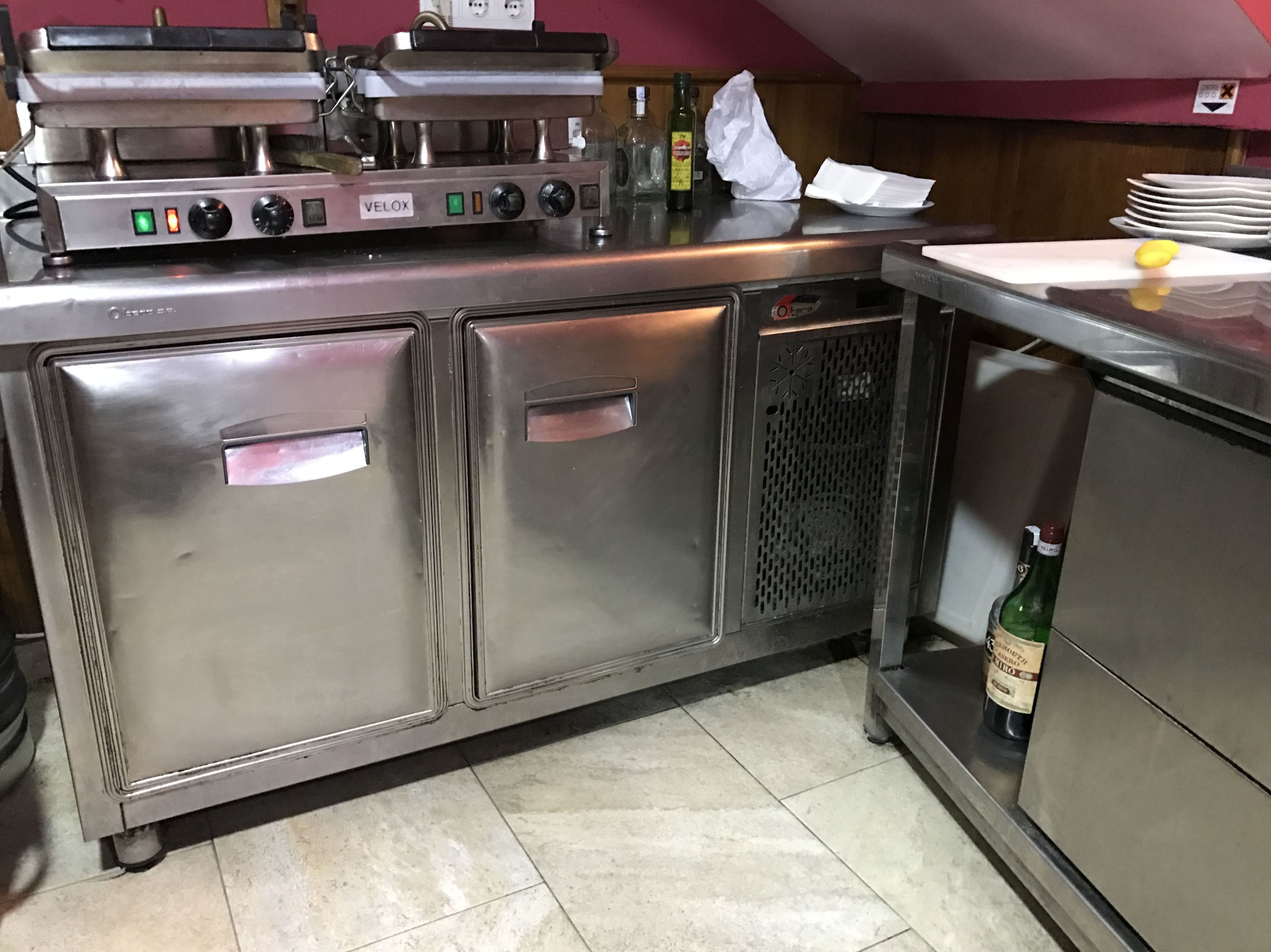 Venta de muebles de acero inoxidable para cocinas