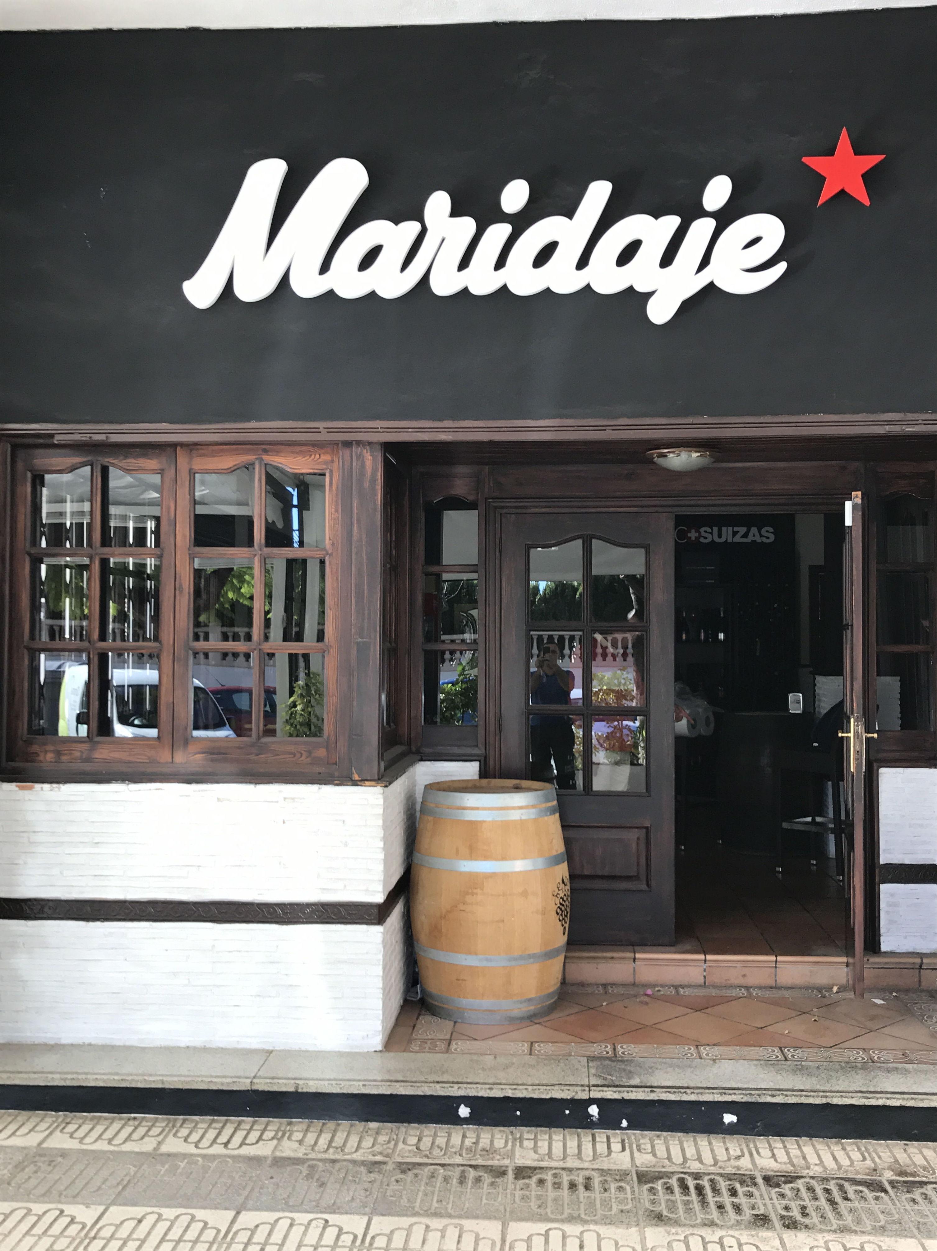 Instalación de frío industrial  en restaurante Maridaje