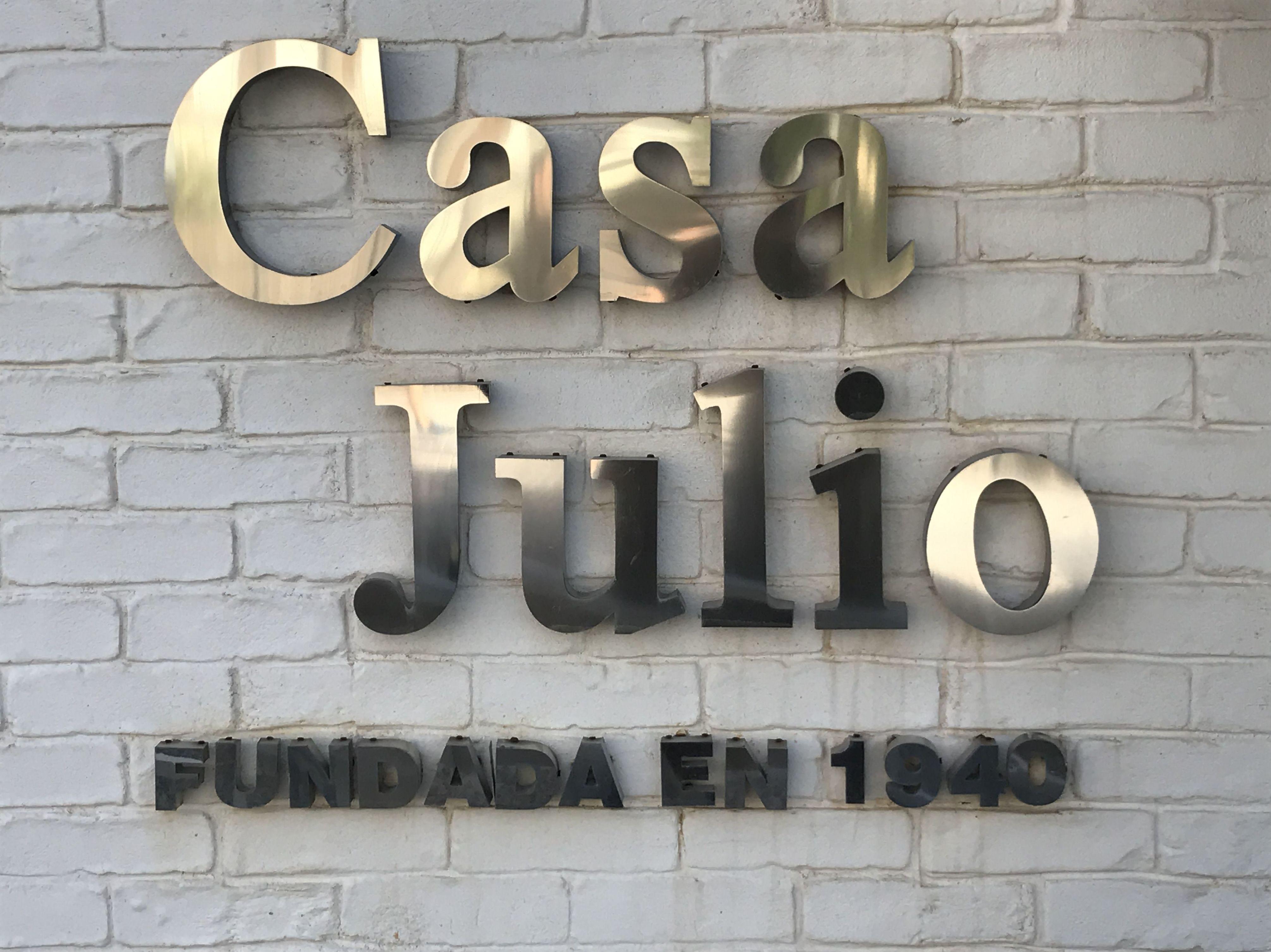 Instalación de maquinaria para la hostelería en Casa Julio