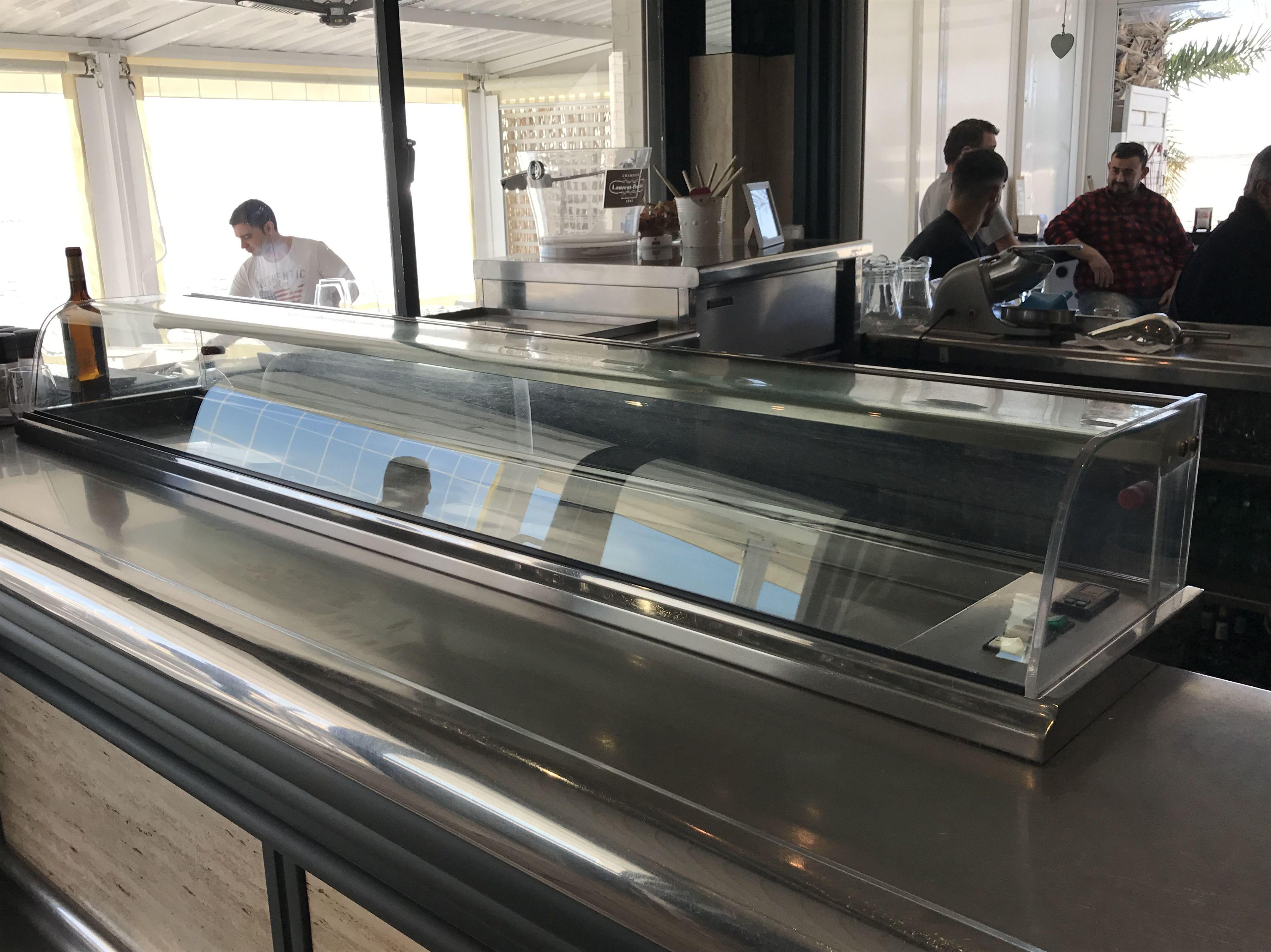 Vitrinas refrigeradas para restaurante