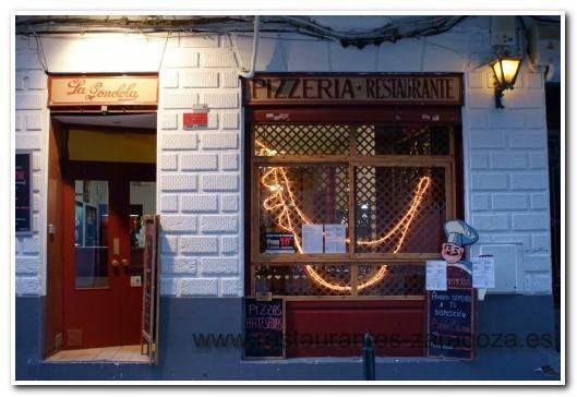 Restaurante pizzería en Zaragoza