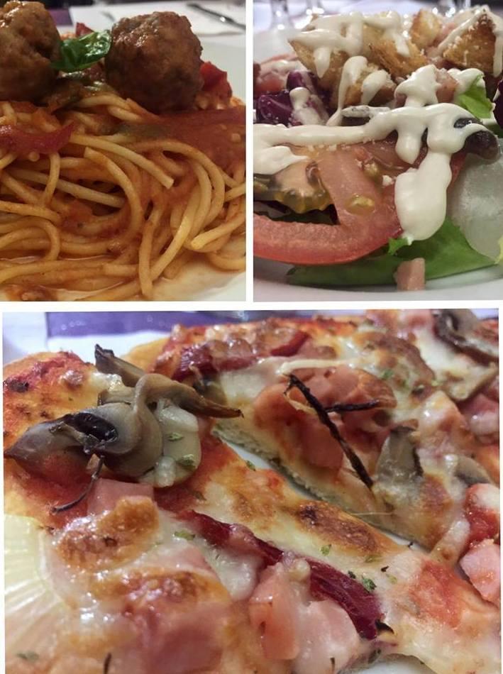 Comida italiana tradicional