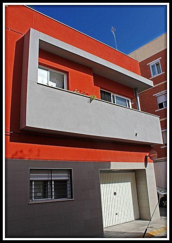Casa Sonia. Vivienda unifamilar en Puerto de Sagunto.
