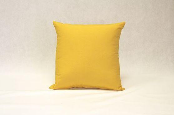 Cojín Loneta (amarillo)