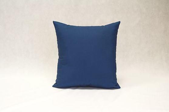 Cojín Loneta (azul)