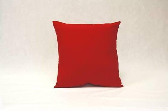 Cojín Loneta (rojo)