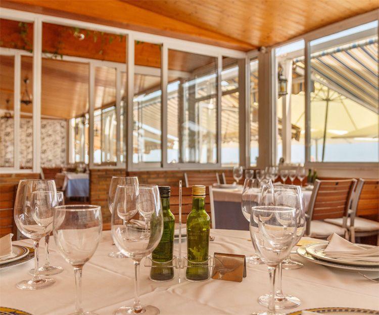Restaurante marisquería con vistas al Mediterráneo