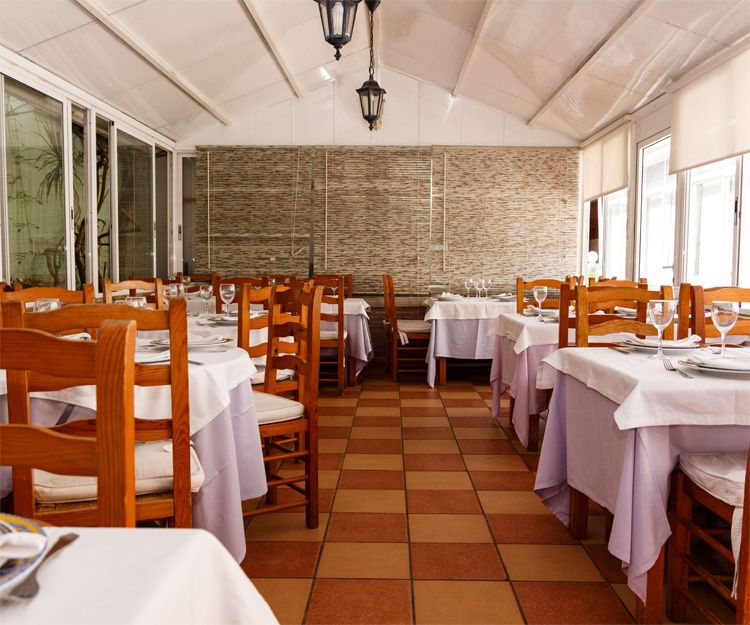 Spacious dining rooms at our restaurant Casa Navarro