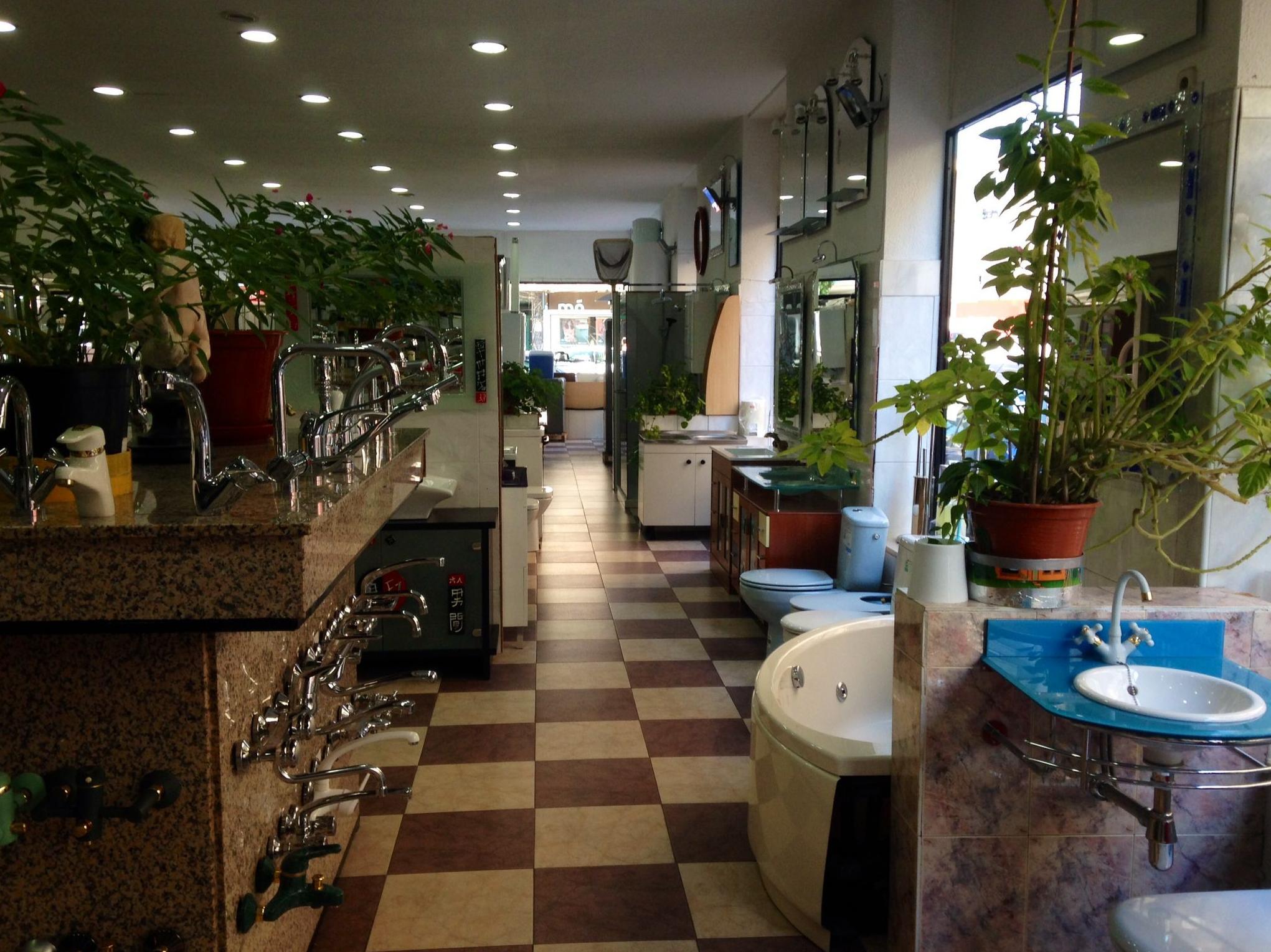 Interior de la la tienda