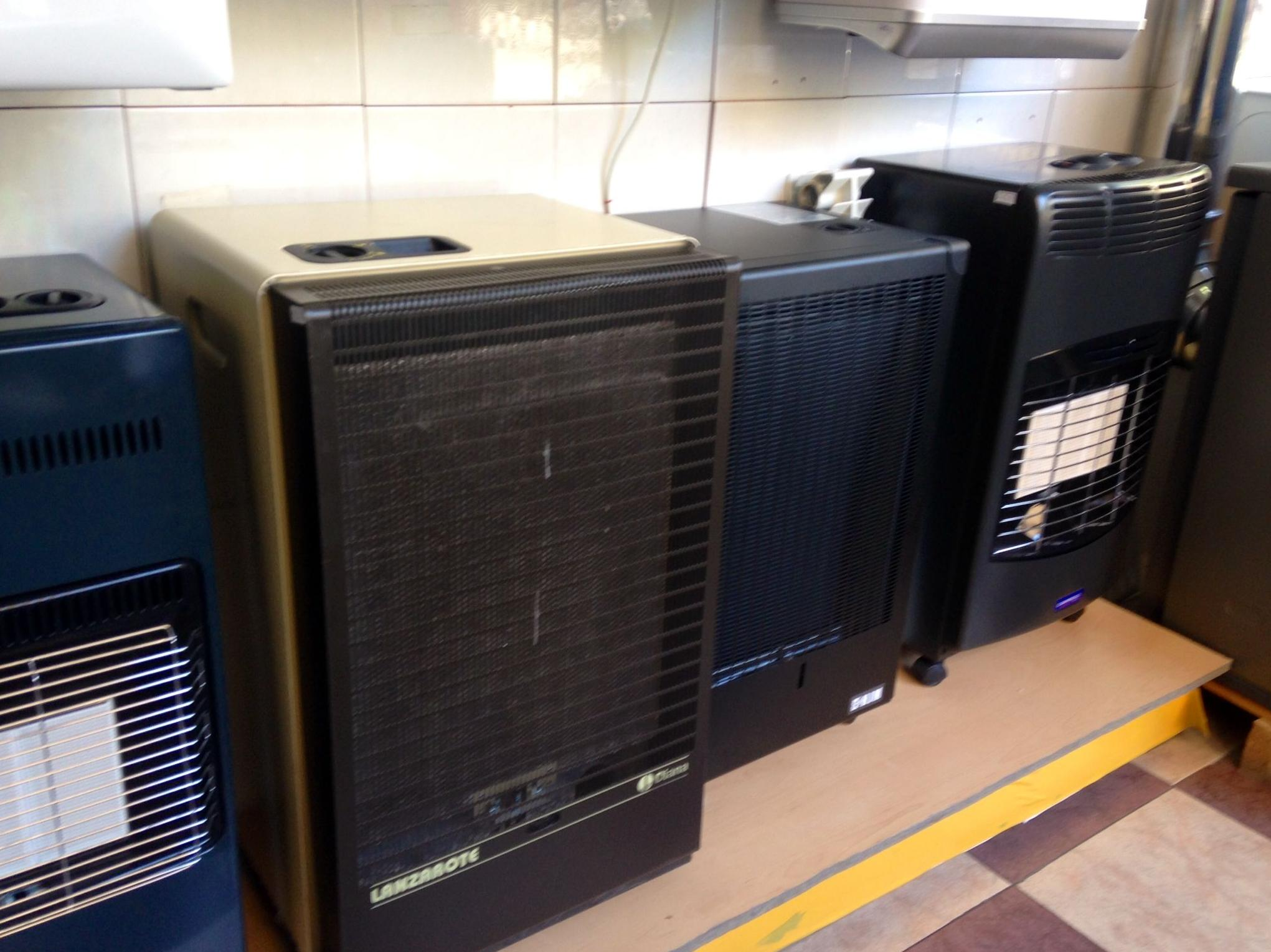 Exposición de estufas