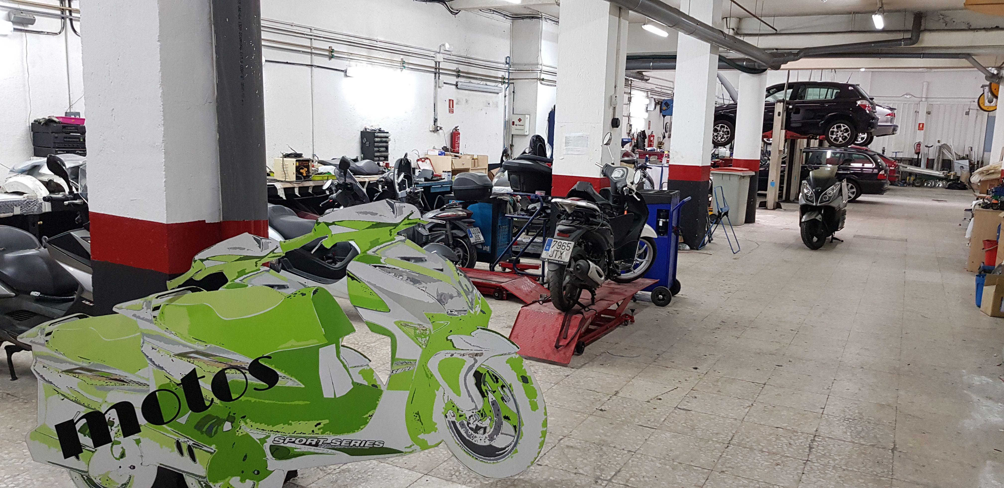 Compraventa de motos en el Barrio de Salamanca