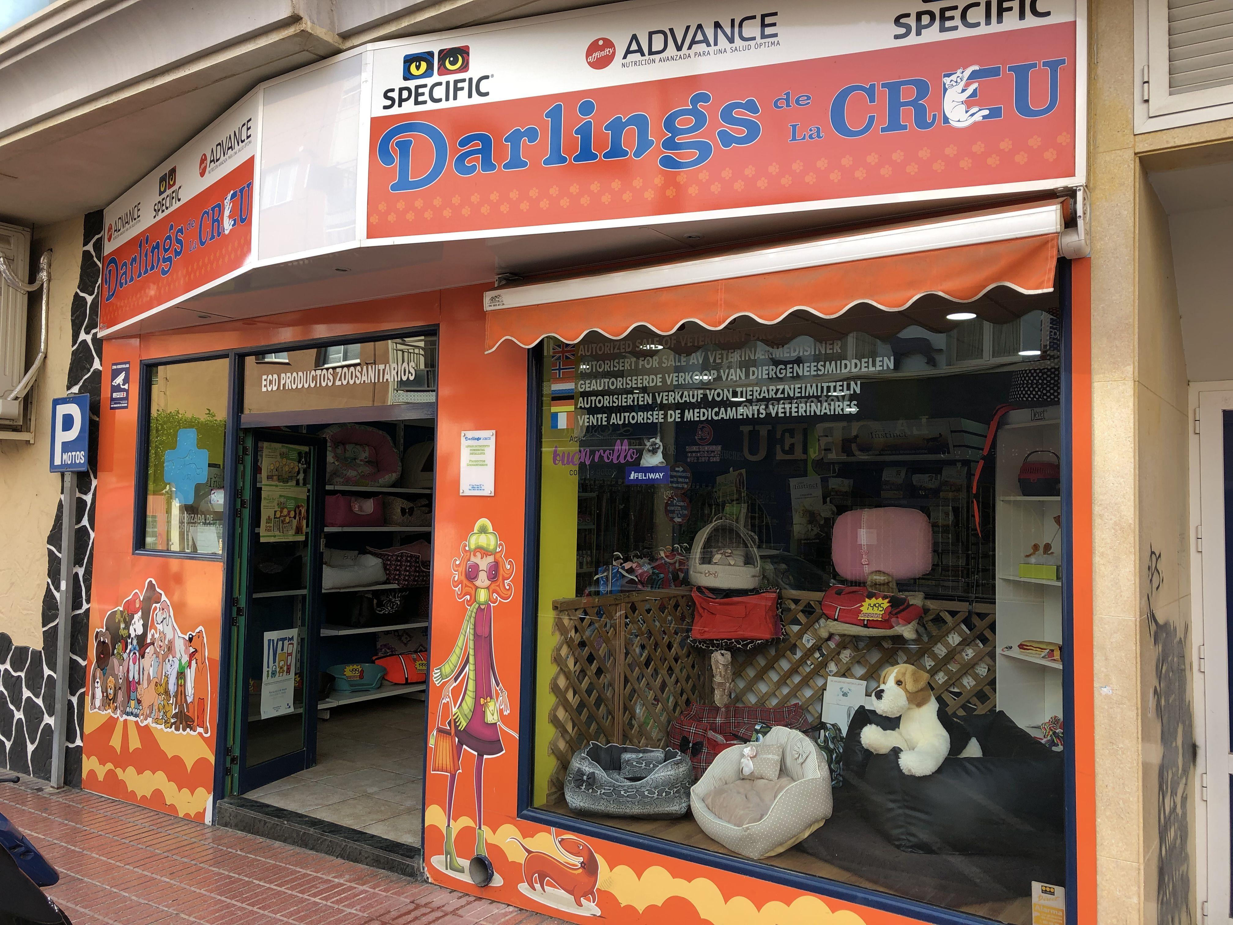Tienda especializada en productos veterinarios