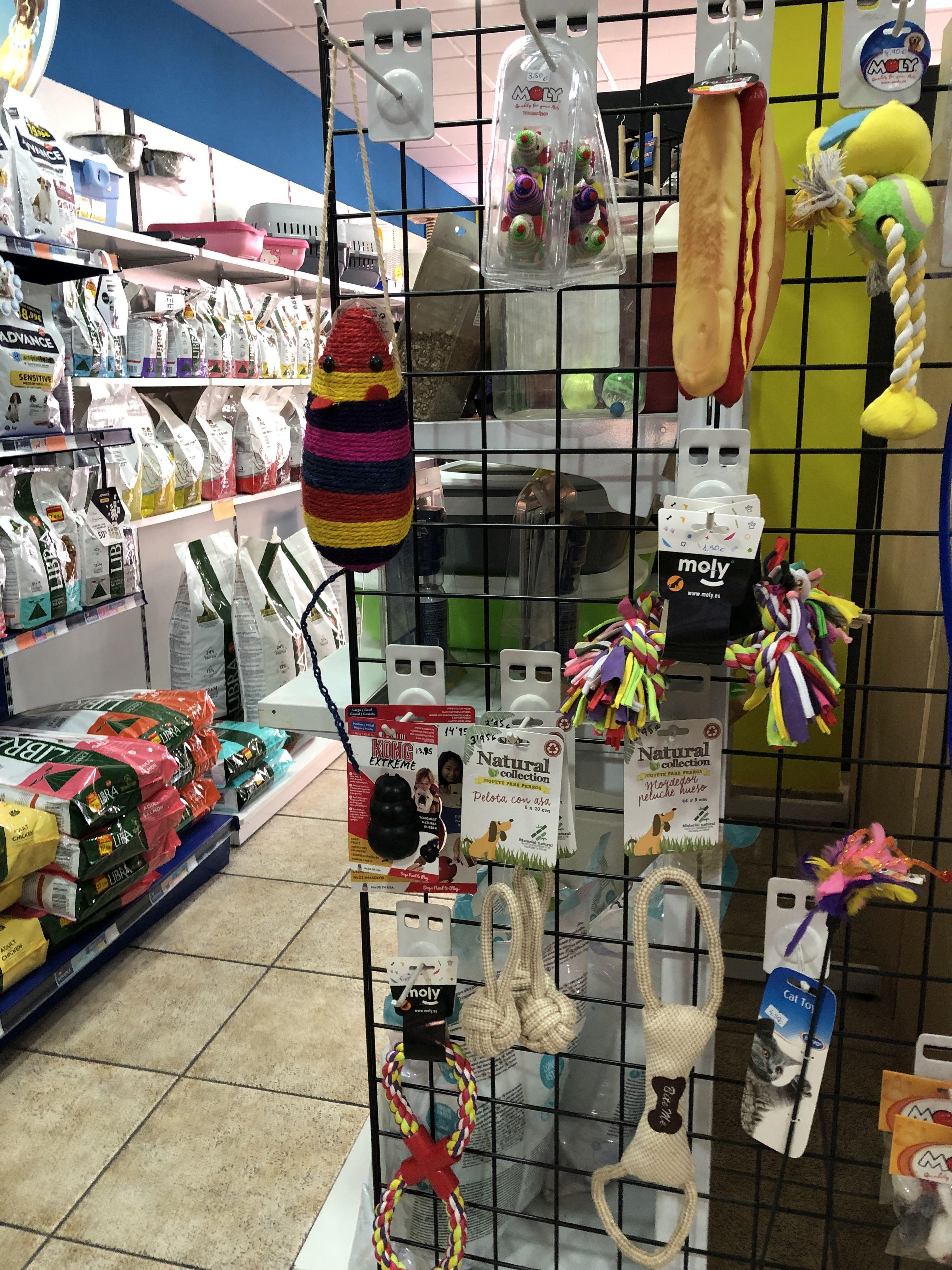 Tienda accesorios animales Benidorm
