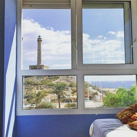 Vista desde uno de nuestros apartamentos en La Manga