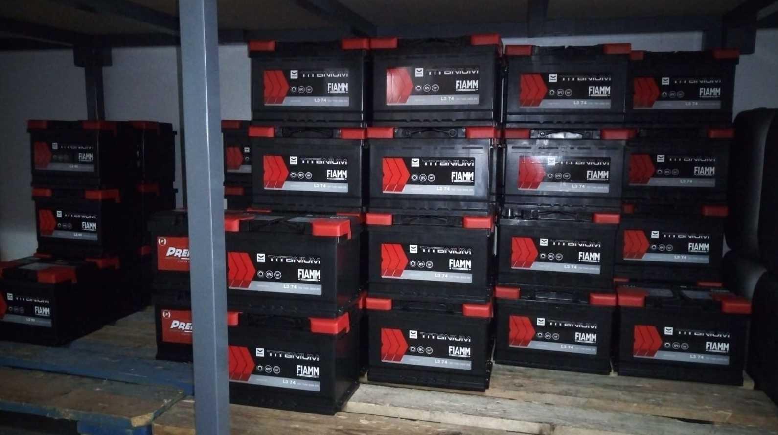 Distribuidor baterías Fiamn